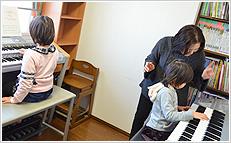 ひとりでも通いやすい音楽教室♪